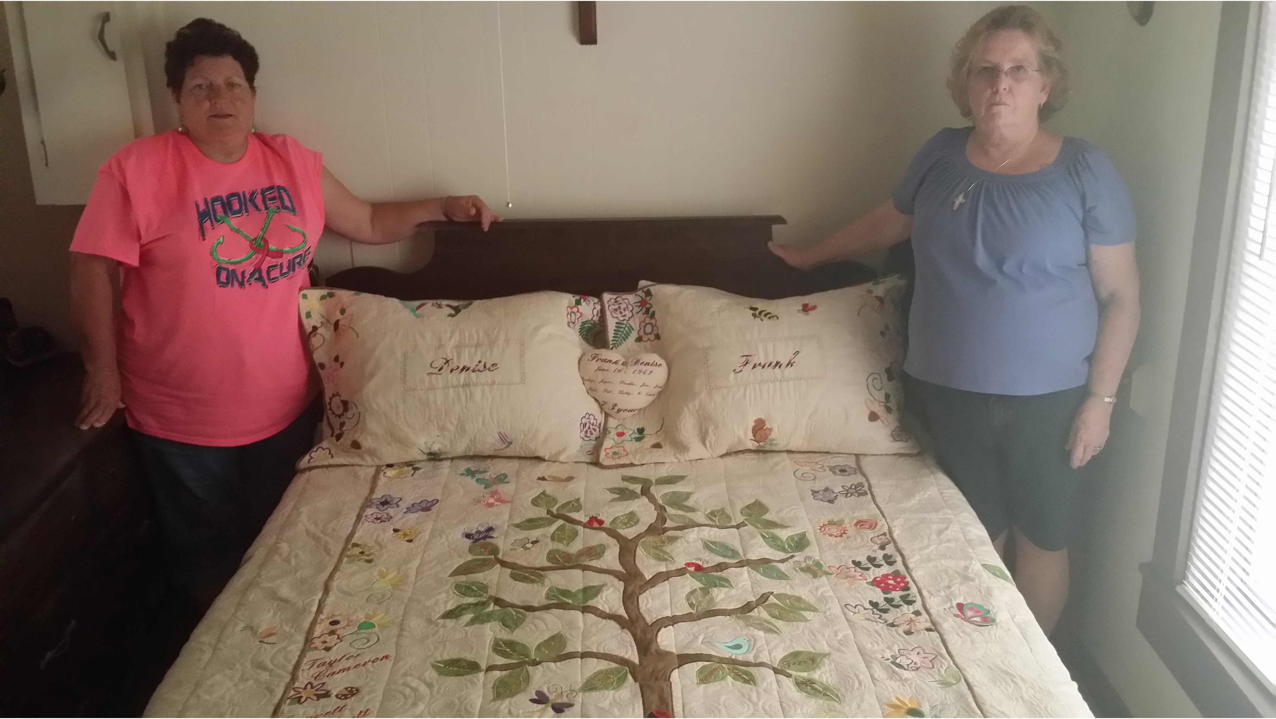 Family Tree Quilt by Allbrands Customers Charlene & Kathy Schilling